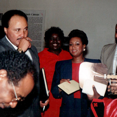 Martin Luther King Jr. III with Mary Kennedy