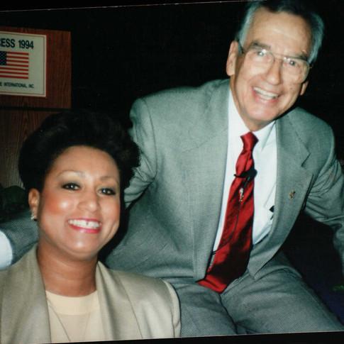 Zig Zigler with Mary Kennedy