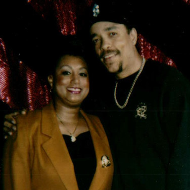 Actor and Rapper Ice T with Mary Kennedy