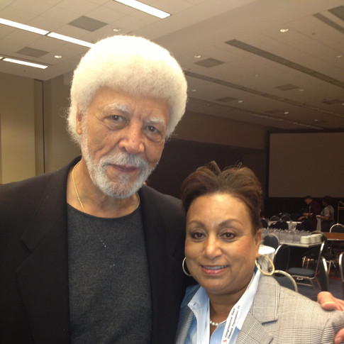Former Oakland Mayor Ron Dullums with Mary Kennedy