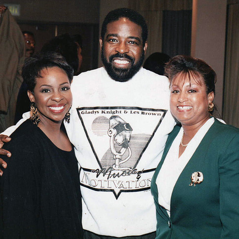 Gladys Knight and Les Brown with Mary Kennedy