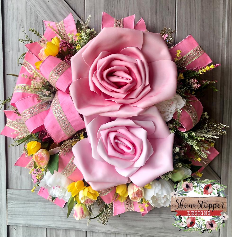 Rose Floral Wreath