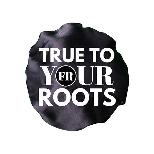 True To Your Roots Satin Bonnet