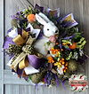 Sisal Bunny Wreath