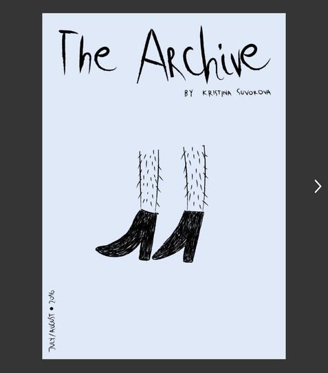 ZINE-THE ARCHIVE VOL2
