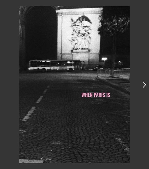 WHEN PARIS IS