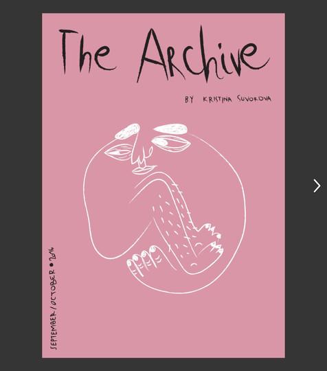 ZINE- THE ARCHIVE VOL1