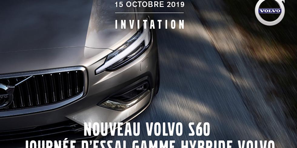 Invitation à une journée d'essai Volvo Hybride