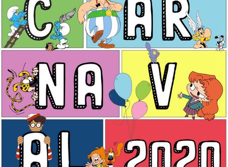 Carnaval digital ! Défi pour les enfants...