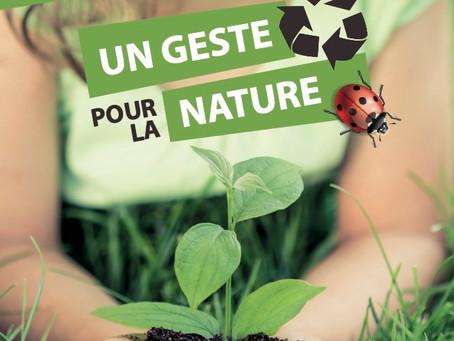 Un geste pour la nature
