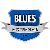 MIX TEMPLATES Blues for Cubase