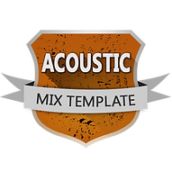 MIX TEMPLATES Acoustic for Cubase