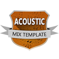 Basic Rock mixing template for Pro Tools