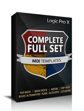 Mix Template for Pro Tools - 4 pack bundle pack
