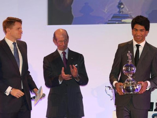 Luciano Bacheta honoured at BRDC Awards