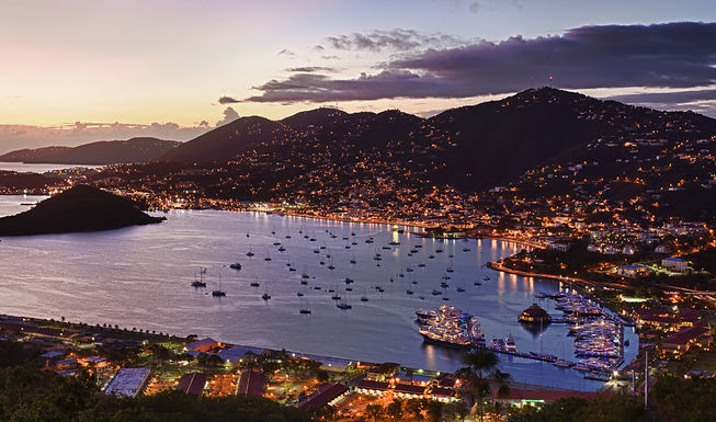 Town Of Charlotte Amalie And  Harbor.jpg