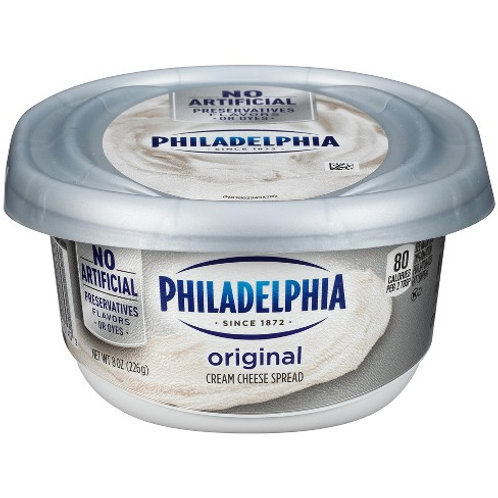 Cream Cheese, tub 8oz