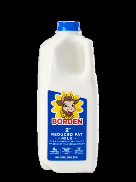2% Milk, half gallon