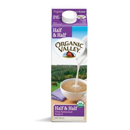 Organic Half & Half, quart
