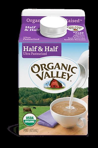 Organic Half & Half, pint