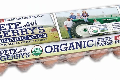 Organic Eggs, 1 dozen
