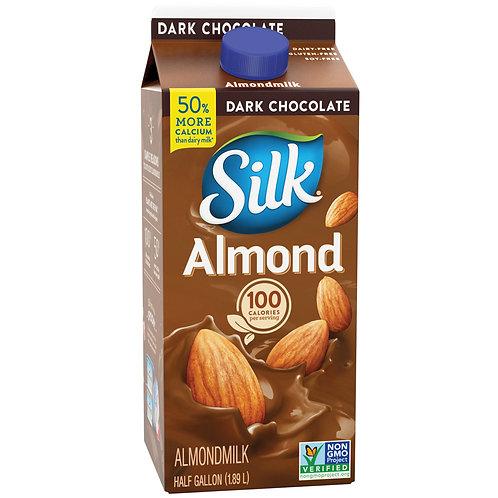 Silk Almond Milk Chocolate, half gallon