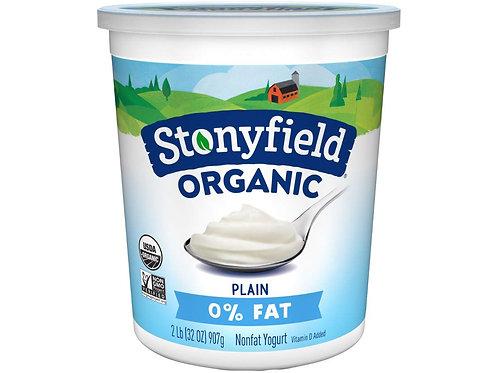 Plain Organic Yogurt, 32oz