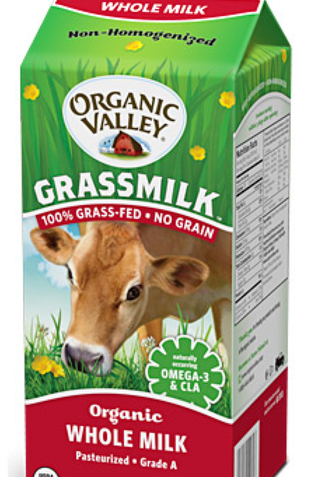 Organic Grass-fed Milk, half gallon