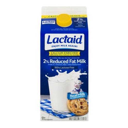 Lactaid 2% Milk, half gallon