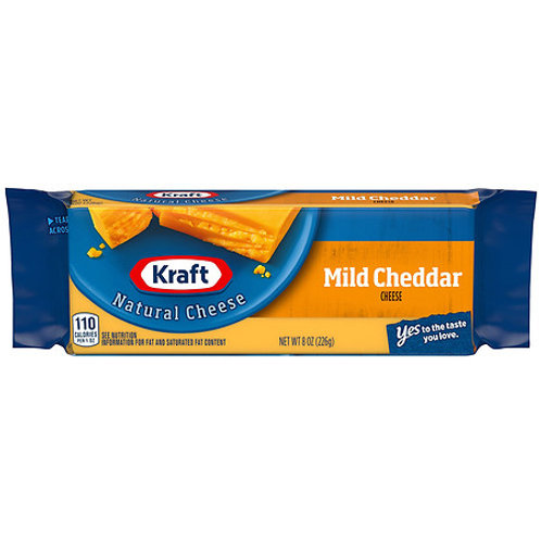 Block Cheese, 8oz