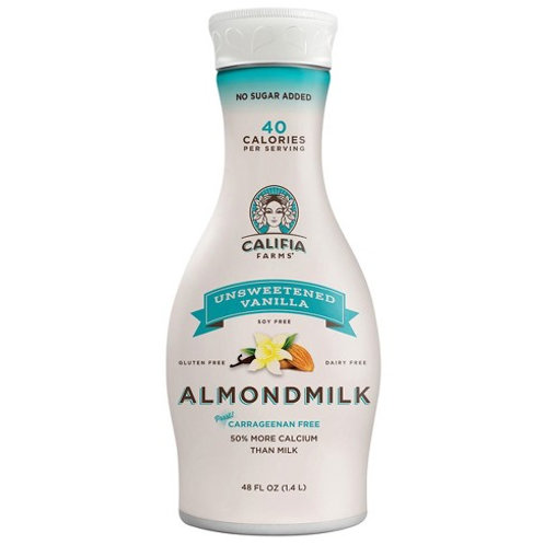 Califia Almond Milk Unsweetened Vanilla, 48oz