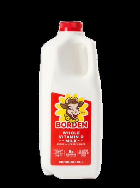 Whole Milk, half gallon