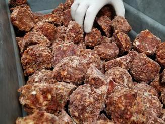 Freshly made Meatballs