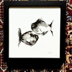 Duo de poissons