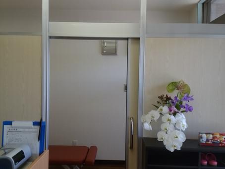 個室ができました。