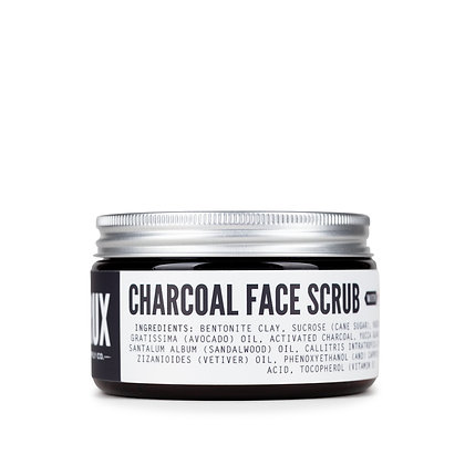 Crux Supply Co Charcoal Face Scrub