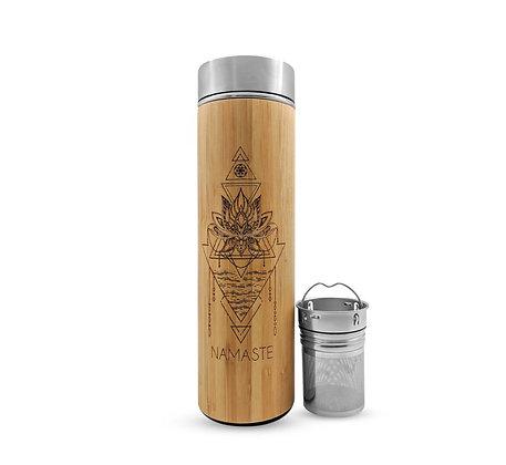 Bhavana Bamboo Water Bottle + Tea Infuser