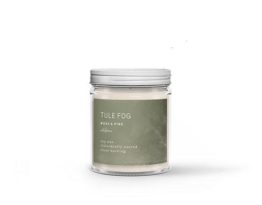 Tule Fog Candle - Moss + Pine  7oz