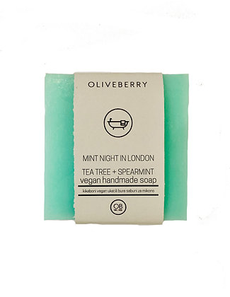 Oliveberry Handmade Vegan Soap - Mint Night In London