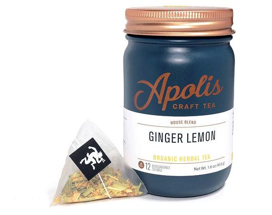 Apolis Craft Tea - Ginger Lemon