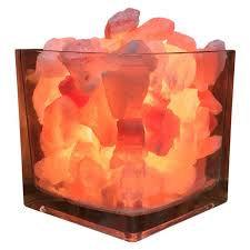 Himalayan Crystal Litez Lamp