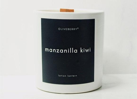 Oliveberry Lotion Lantern - Manzanilla Kiwi