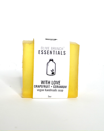 Olive Branch Essentials Vegan Soap - With Love