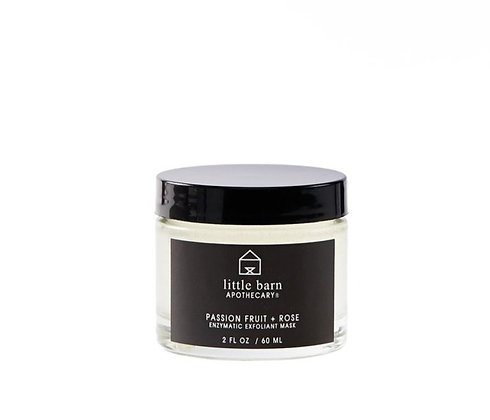 Little Barn Apothecary Enzymatic Exfoliant Mask -Passion Fruit + Rose