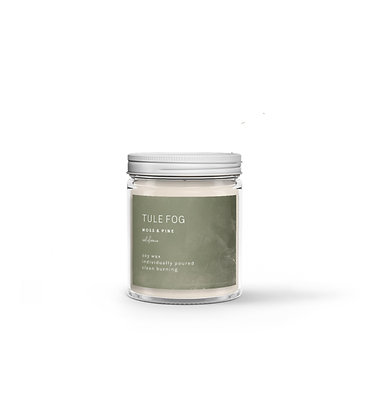 Tule Fog Candle - Moss + Pine  3oz