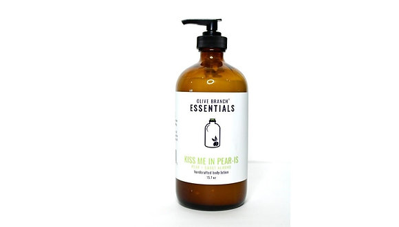Olive Branch Essentials Handcrafted Lotion - Kiss Me In Pear-is
