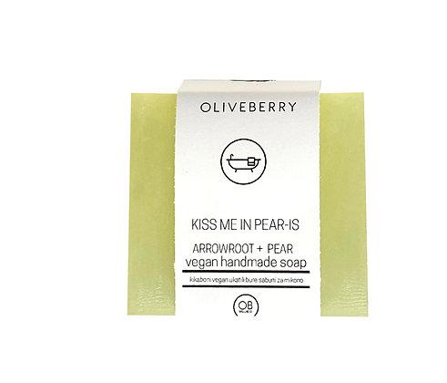 Oliveberry Handmade Vegan Soap - Kiss Me In Paris