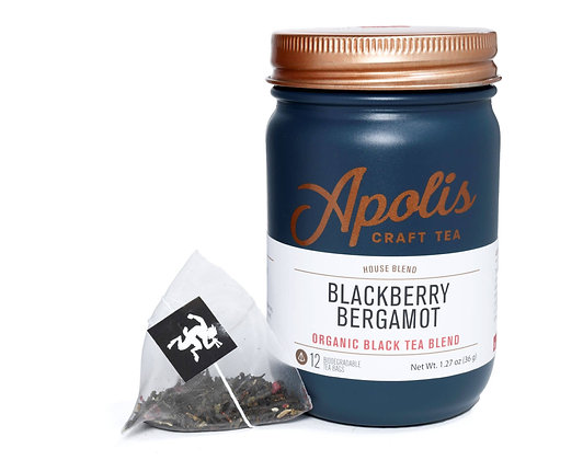 Apolis Craft Tea - Blackberry Bergamot