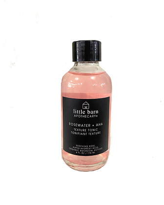 Little Barn Apothecary - AHA Rosewater Texture Tonic