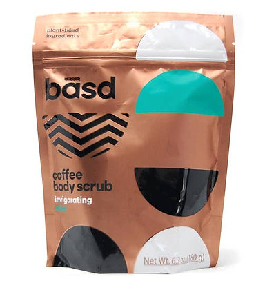 Basd Invigorating Mint Coffee Scrub